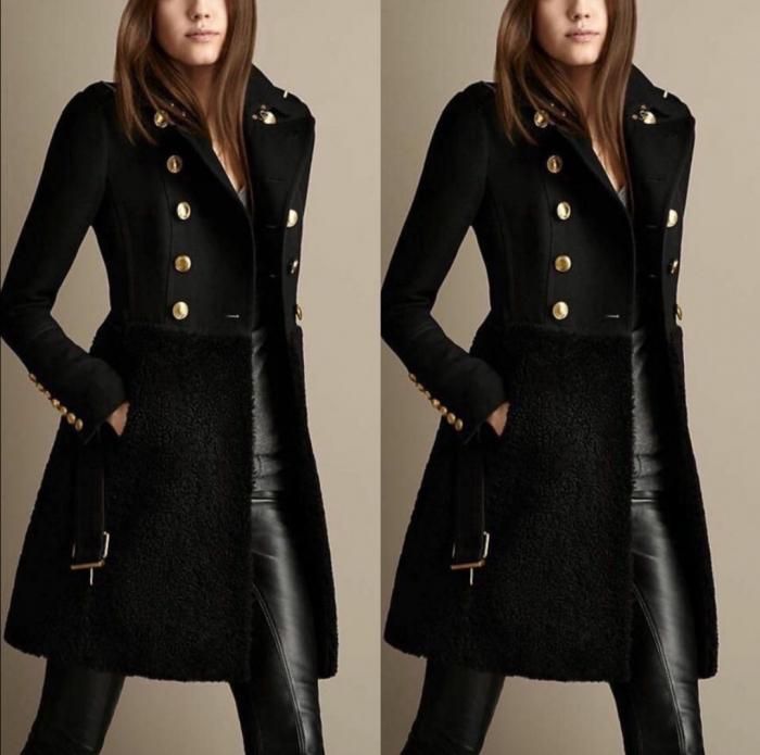 Palton Tiffany Black 0