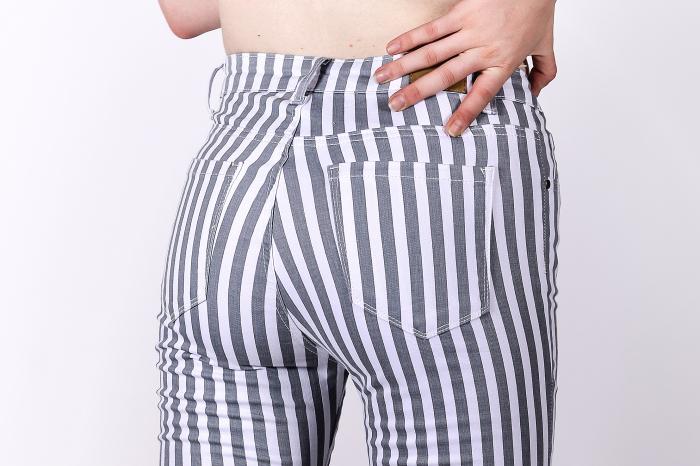 Blugi Skinny Stripes 2