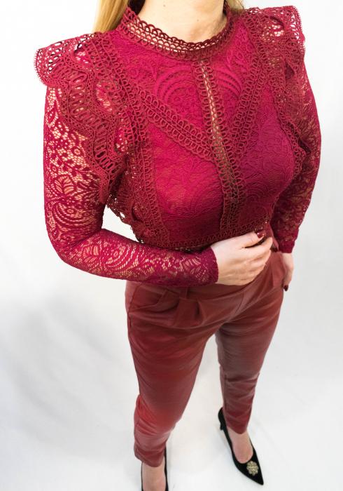 Bluza Brenda Bordo 1
