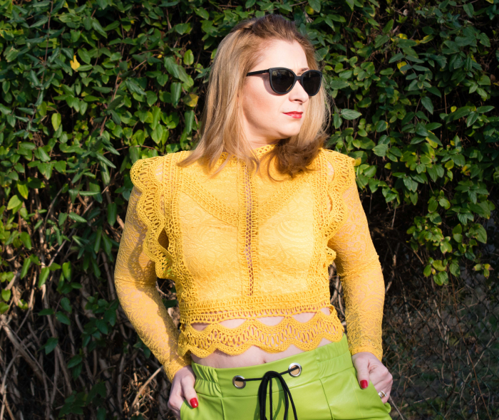 Bluza Brenda Yellow 2