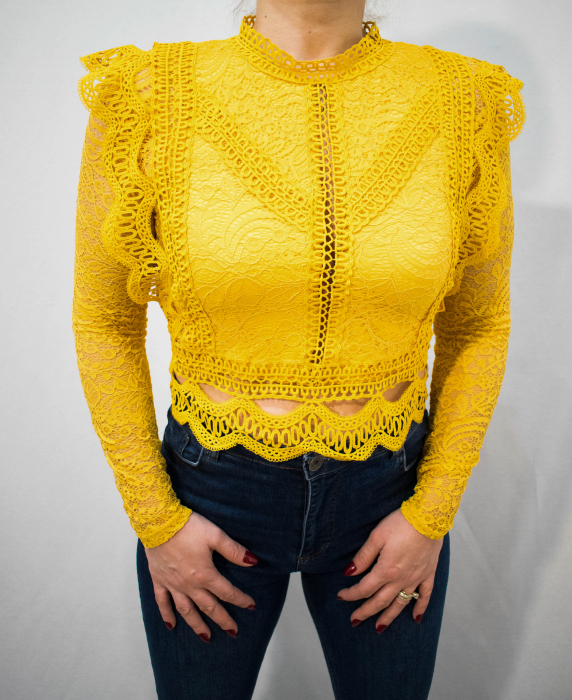 Bluza Brenda Yellow 4