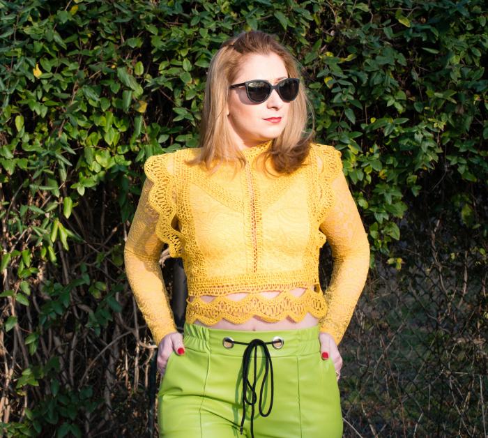 Bluza Brenda Yellow 1