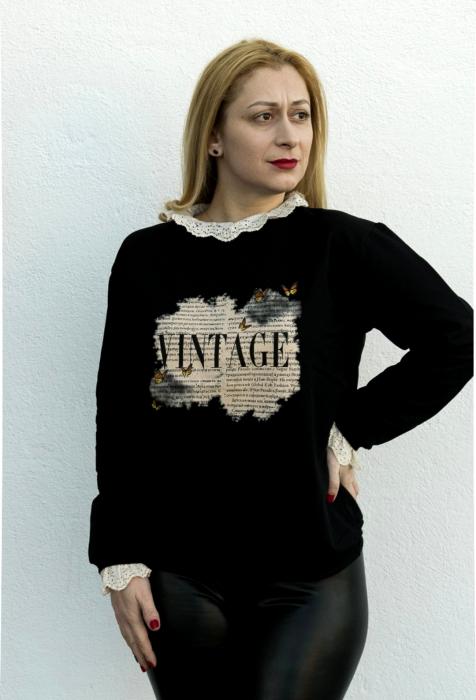 Bluza Vintage Black [1]