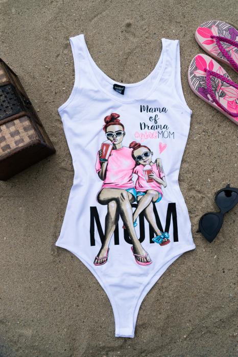 Body Mom White 0