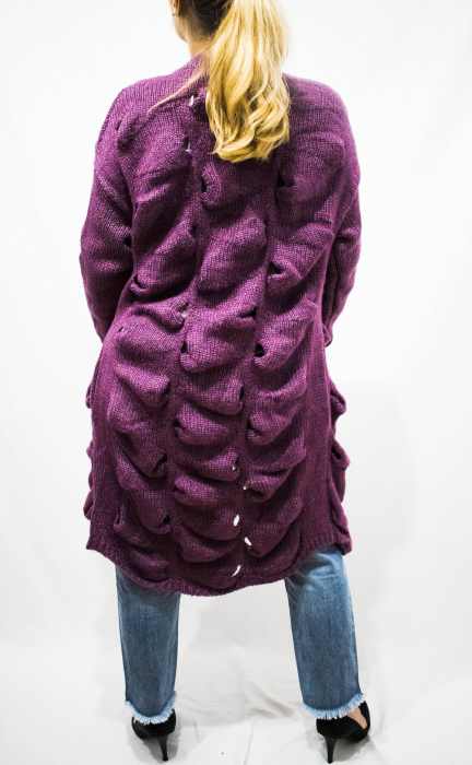 Cardigan Emma Purple 3