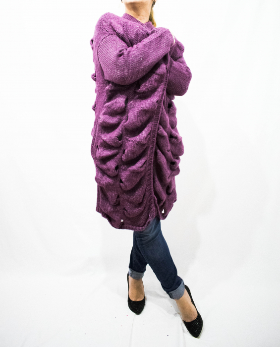 Cardigan Emma Purple 0