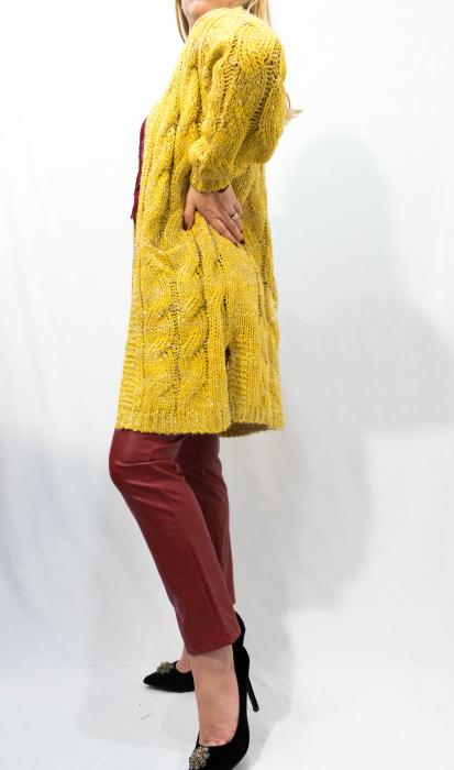 Cardigan Olivia Yellow 1