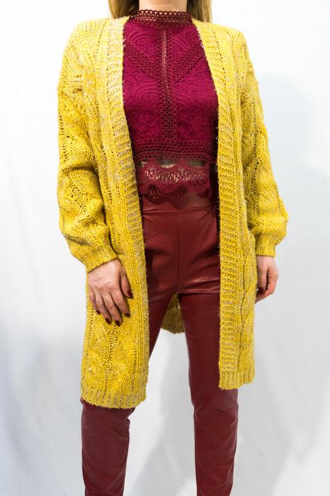 Cardigan Olivia Yellow 0