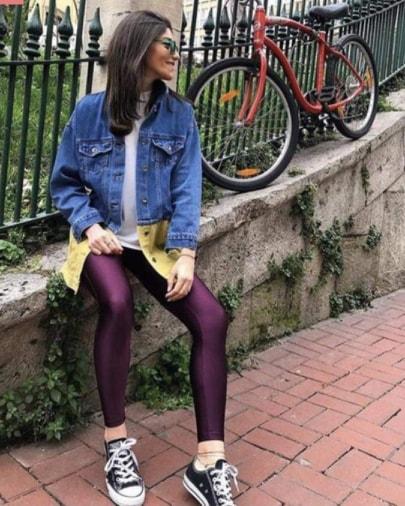 Colanti Lycra Jasmine Purple 2