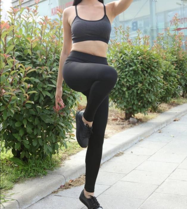 Colanti Lycra Vatuiti Viviana Black 5