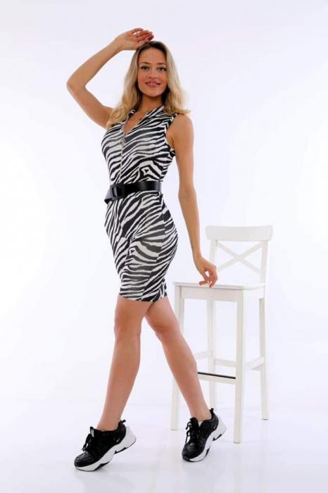 Salopeta Reina Zebra Print [1]
