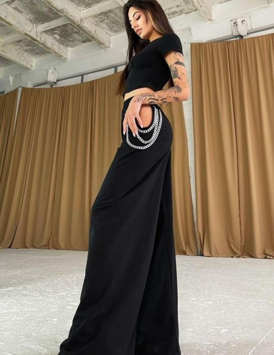 Pantaloni Kristen Black [1]