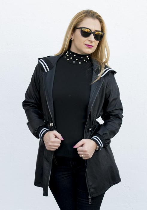 Jacheta Eco Piele Karin Black 0