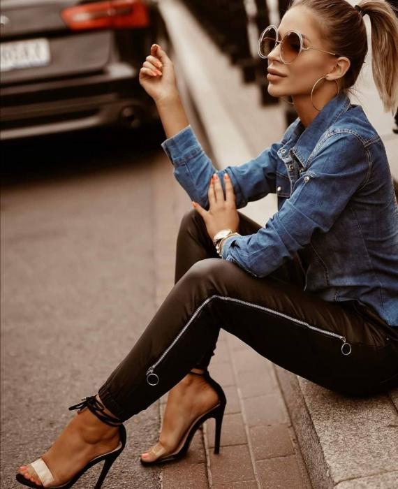 Pantaloni Debbie Black [1]