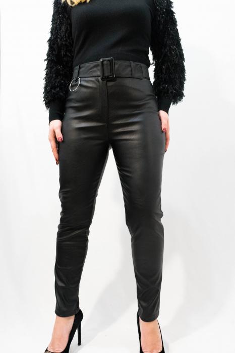 Pantaloni Eco Piele Celine 3