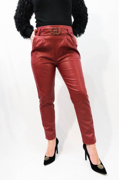 Pantaloni Eco Piele Jessica 3