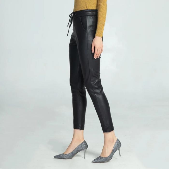 Pantaloni Eco Piele Selena 0