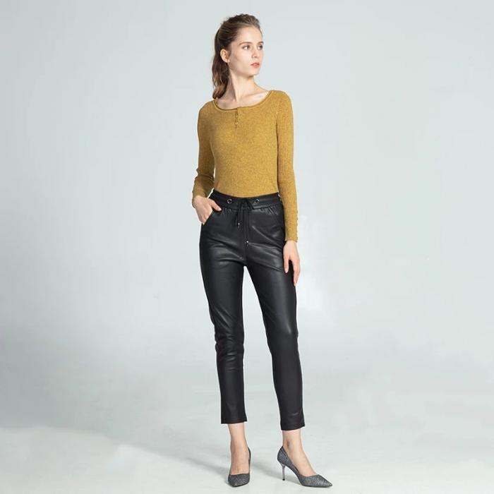 Pantaloni Eco Piele Selena 1