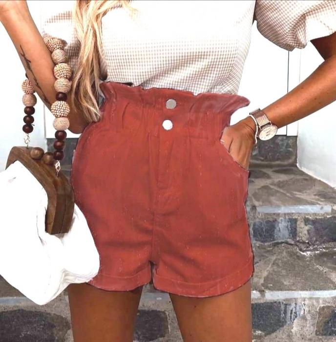 Pantaloni Scurti Emma Scarlet 0