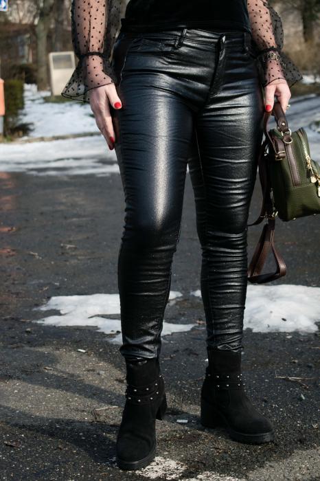 Pantaloni Skinny Push Up 1