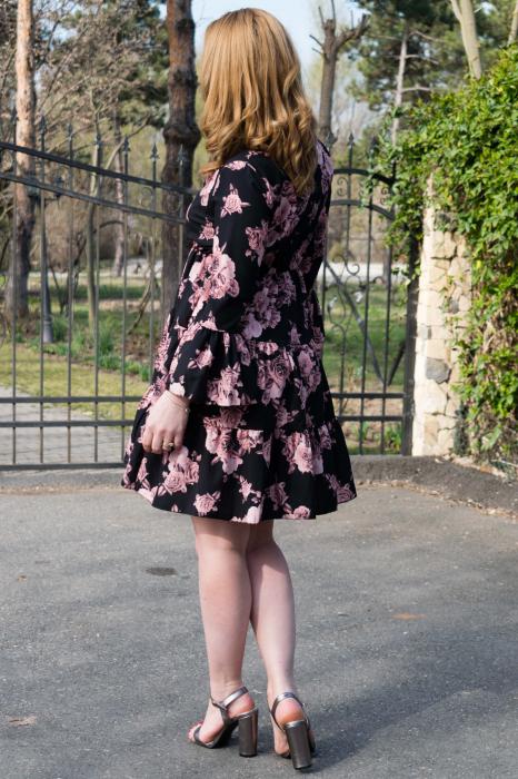 Rochie Anna Black 2
