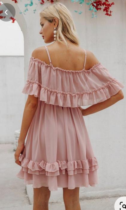 Rochie Misha Sweet Pink 3