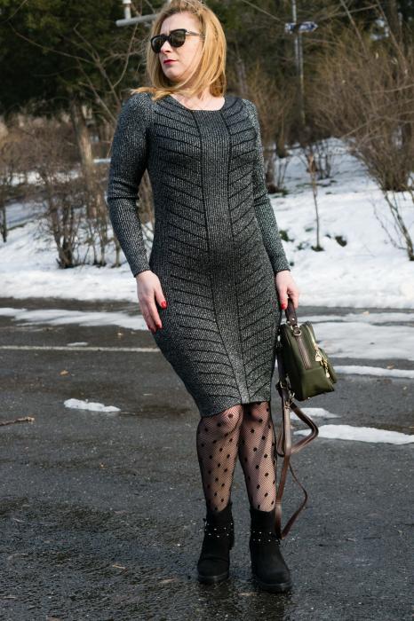 Rochie Sandra Black [1]