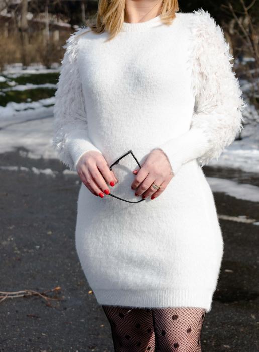 Rochie White Snow 1