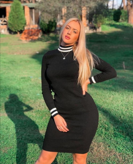 Rochie Daria Black 0