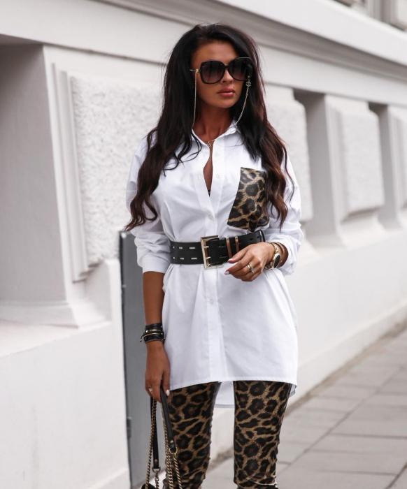 Compleu Anda White Leopard [0]