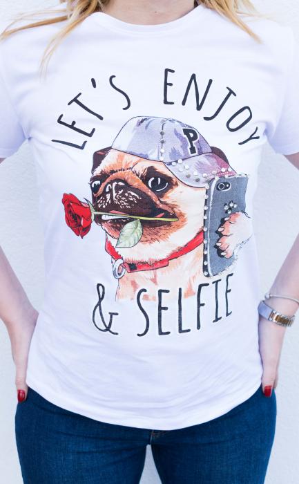 Tricou Enjoy & Selfie 2