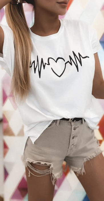 Tricou Mom Heart 0
