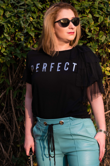 Tricou Perfect Black 0