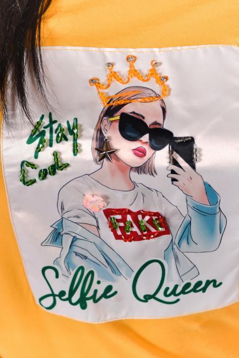 Tricou Selfie Queen 1
