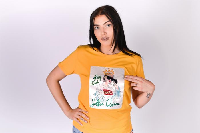 Tricou Selfie Queen [3]