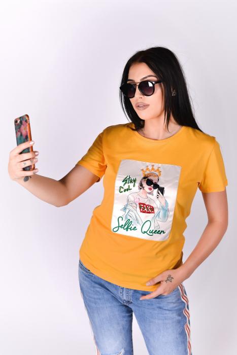 Tricou Selfie Queen 3