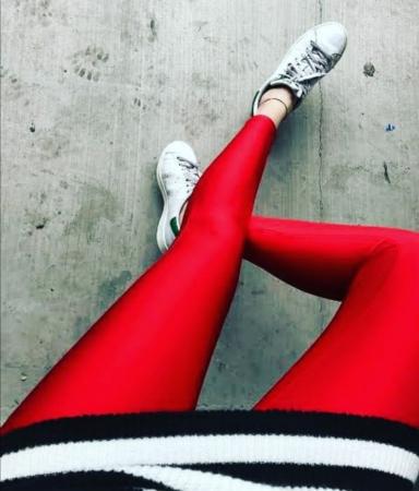 Colanti Lycra Emily Red2