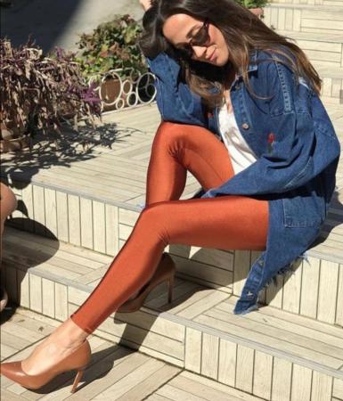 Colanti Lycra Extrafin Jessica Orange3