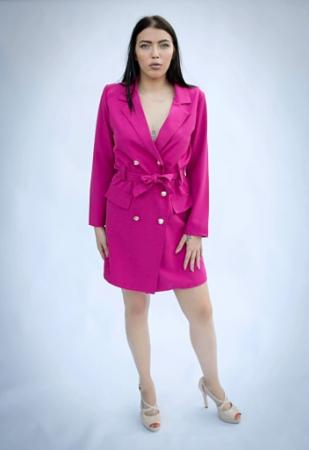 Rochie Eva Pink0