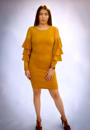 Rochie Elisa Yellow0