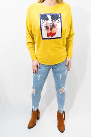 Pulover Luana Yellow1