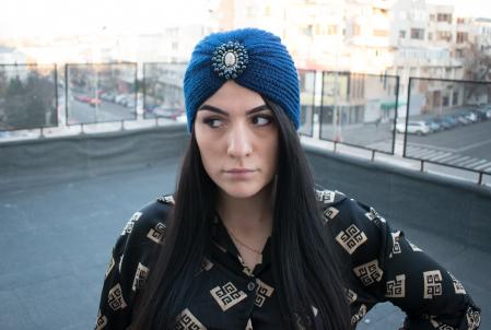 Turban Sheila Blue1