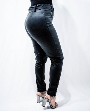 Pantaloni Eco Piele Celine4