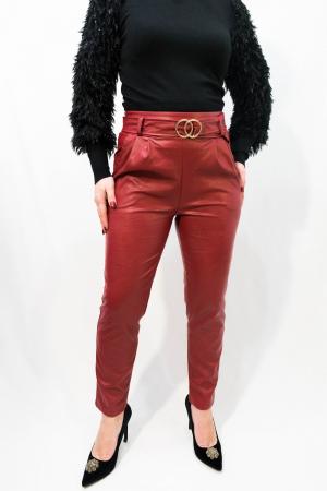 Pantaloni Eco Piele Jessica0