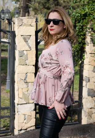 Bluza Giulie Pink2