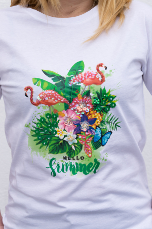 Tricou Hello Summer3