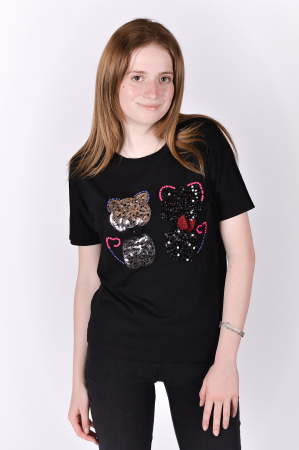 Tricou Sparkle Cats0