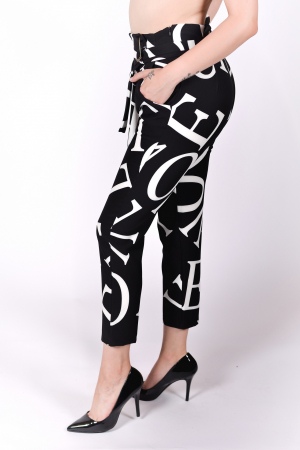Pantaloni White Types2