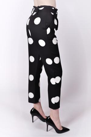 Pantaloni White Dots1