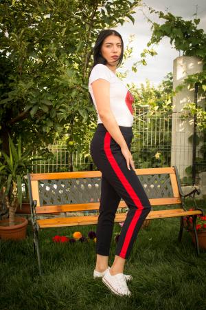 Pantaloni sport bleumarin1